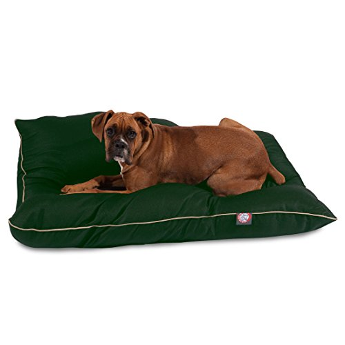 35x46 Green Super Value Pet Dog Bed By Majestic Pet Products Large