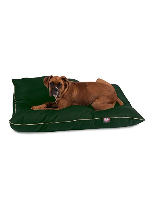 35×46 Green Super Value Pet Dog Bed By Majestic Pet Products Large