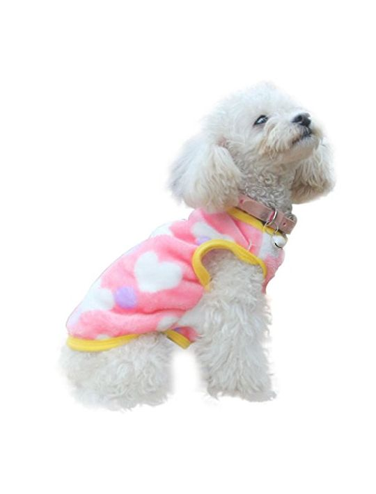 AIMTOPPY Fashion Pet Cat Dog Villus Clothes Winter Vest Jacket Apparel Costume