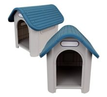 alwaysquality Indoor Outdoor Dog House Small to Medium Pet All Weather Doghouse Puppy Shelter