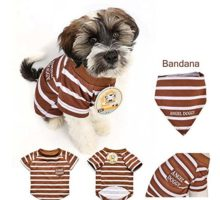 AngelDoggyINC Dog TShirt Small & Medium Dogs Apparel Trendy Dogs' Clothes
