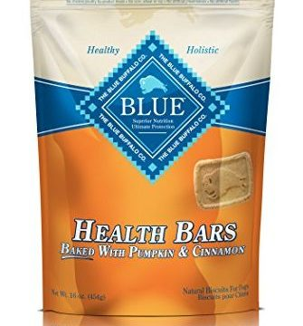 BLUE Health Bars Adult Pumpkin & Cinnamon Biscuits Dog Treats 16oz