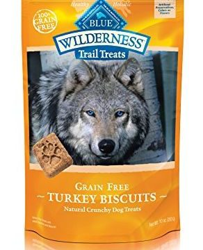 BLUE Wilderness Trail Treats GrainFree Turkey Biscuits Dog Treats 10oz