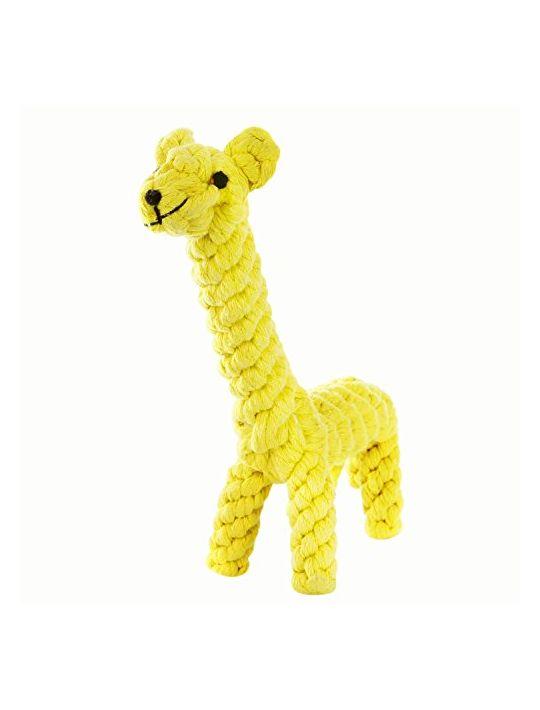 GOCooper Dog Toys Cotton Dental Teaser Rope Chew Teeth Cleaning Toys Giraffe
