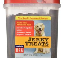 Jerky Treats Tender Beef Strips Dog Snacks 60 oz Large