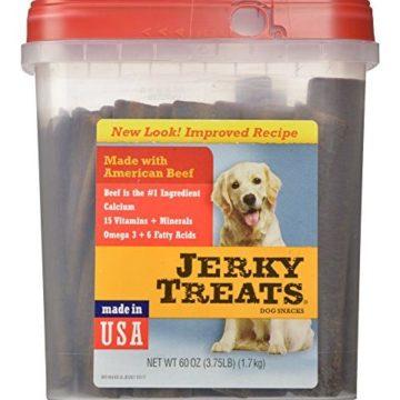 Jerky Treats Tender Beef Strips Dog Snacks 60 oz Large