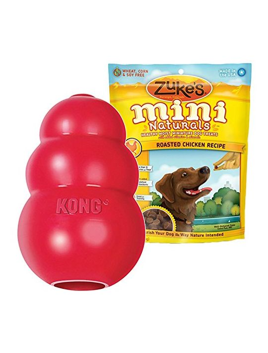 KONG CLASSIC LARGE Rubber Chew Toy For Dogs  World Best Dog Toy