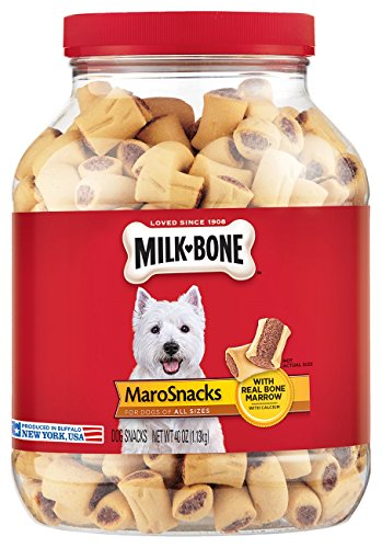MilkBone MaroSnacks Dog Treats for All Sizes Dogs 40Ounce