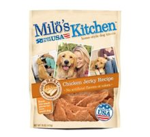 Milo Kitchen Chicken Jerky Strips Dog Treats 15Ounce