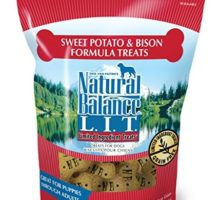 Natural Balance LIT Limited Ingredient Dog Treats Grain Free Sweet Potato & Bison Formula 14Ounce