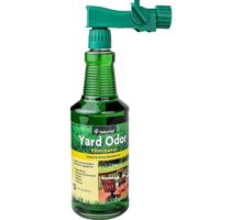 NaturVet Yard Odor Eliminator Concentrated Ready to Use Spray Bottle with Nozzle 32 oz Liquid Made in USA