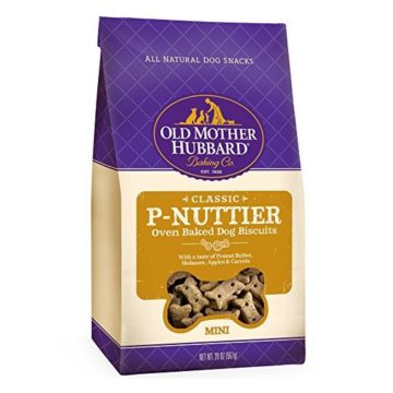 Old Mother Hubbard Classic Crunchy Natural Dog Treats PNuttier Mini Biscuits 20Ounce Bag
