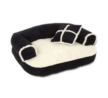 Petmate Aspen Pet Sofa Bed With Pillow 20 X 16 Inches