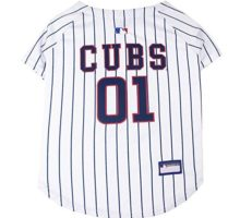 Pets First MLB Chicago Cubs Dog Jersey Small