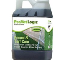 ProVetLogic Kennel Care Pet Floor Cleaner Synthetic Pet Turf Cleaner Deodorizer and Drain Maintainer Concentrated 64 Ounces