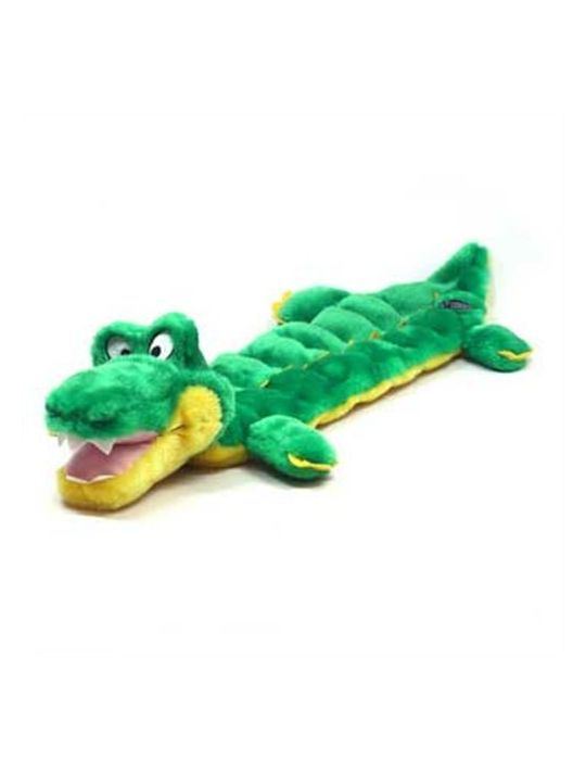 Squeaker Matz Dog Squeaky Toy MultiSqueaker Toy for Dogs by Outward Hound Long Body 16 Squeaker Gator