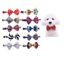 Yagopet 10pcs pack New Pet Dog Bowties Dog Collar neckties Dog Ties Adjustable Pet Grooming Products Dog Accessories Cute Gift