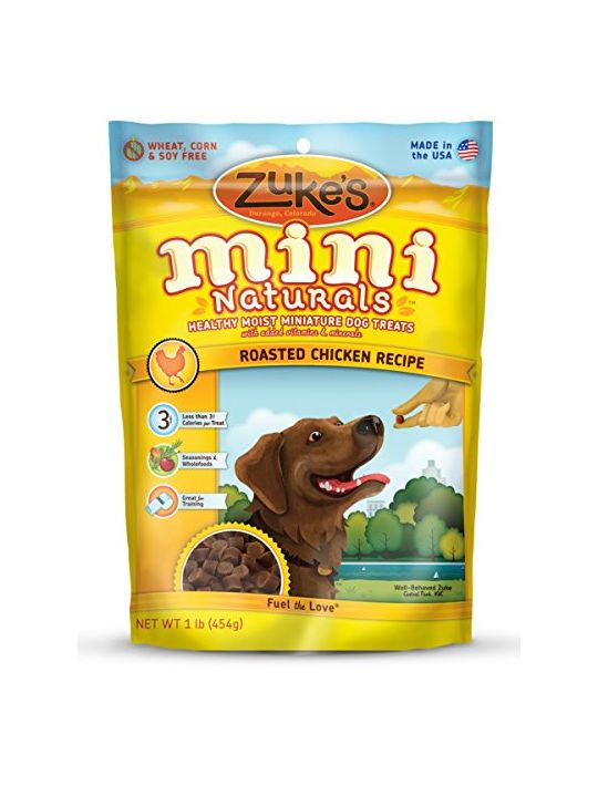 Zuke Mini Naturals Dog Treats Chicken 1Pound