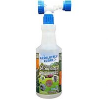 Absolutely Clean Outdoor Deodorizer Pet Waste and Outdoor Odor Remover Prevents Lawn Yellowing Made in USA
