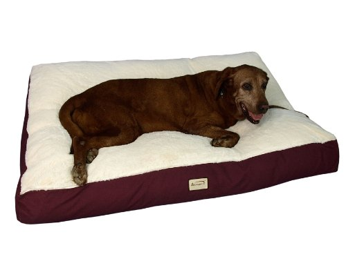 Armarkat Pet Bed Mat 28 by 22 by 5 M02HJH MBMedium Ivory