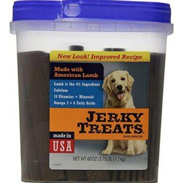 Jerky Treats Tender Strips Dog Snacks Lamb 60 oz(375 lb)