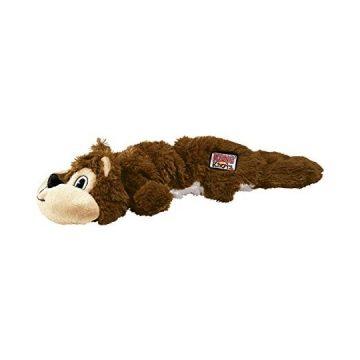KONG Scrunch Knots Squirrel Dog Toy Small Medium
