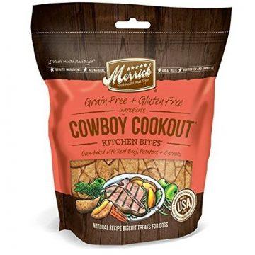 Merrick Kitchen Bites for Pets 9Ounce Cowboy Cookout