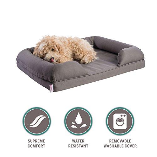 Orthopedic Pet Sofa Bed Dog Cat Or Puppy Memory Foam
