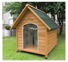 Pets Imperial Extra Large Wooden Sussex Dog Kennel With Removable Floor For Easy Cleaning