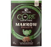 Wellness CORE Marrow Roasts Natural Grain Free Dog Treats Turkey 8Ounce Bag