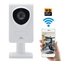 WiFi IP Wireless Security Camera 720P Home Surveillance Camera System Great For Video Monitor Nanny Baby  Dog Elder with Two Way Audio and Night Vision Motion Detector