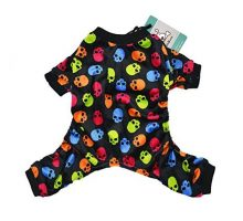 CuteBone Dog Pajamas Dog Apparel Dog Jumpsuit Pet Clothes Onesie Pajamas P21S