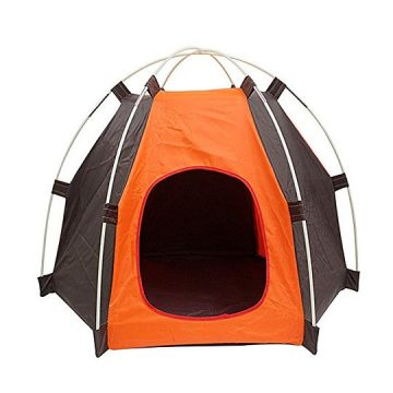 MyLifeUNIT Outdoor Pet Tent Portable Dog House Pet Camping Tent Foldable Pet House Tent for Dogs Cats