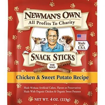 Newman Own Snack Sticks for Dogs Chicken & Sweet Potato 4 Ounce