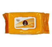 Perfect Coat Deodorizing Bath Wipes for Dogs 100Count
