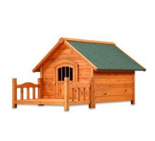 Pet Squeak Porch Pups Dog House Large