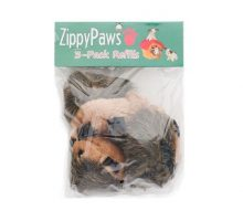 ZippyPaws 3Pack Squeaky Replacement Burrow Toys for Dogs Medium Hedgehogs