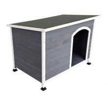 A4Pet Waterproof Outdoor Dog House for Puppy or Doggie up to 40 lbs
