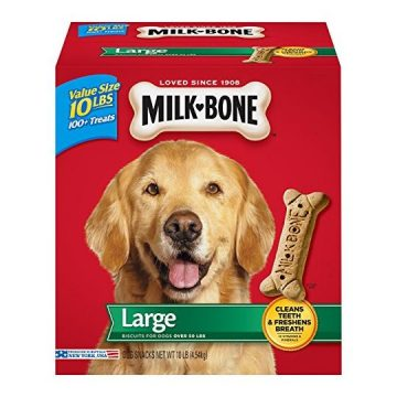 MilkBone Original Dog Treats for Large Dogs 10Pound