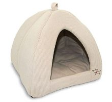 Pet Tent  Soft Bed for Dog and Cat Best Pet Supplies Extra Large Corduroy Beige