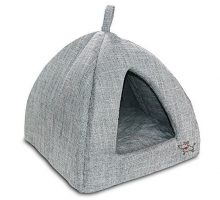 Pet Tent  Soft Bed for Dog and Cat Best Pet Supplies Medium Grey