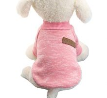 vmree Dog Apparel Pet Dog Puppy Classic Fleece Sweater Clothes Winter Warm Clothes