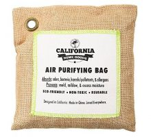 California Home 500g Activated Bamboo Charcoal Deodorizer Natural Air Purifying Bag Dehumidifier AllergyFree Filters Odor Neutralizer for Home Shoes Car