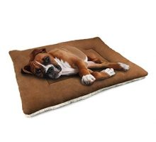 DOGJOG Dog Cushion Cover Dog Kennel Mat Washable Mat Comfortable Pad for Pet Dog bed for crate