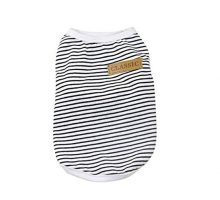 Pet Shirt Howstar Dog Cat Clothes Puppy Classic Vest Striped Tshirt Pet Summer Apparel