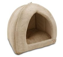 Pet Tent  Soft Bed for Dog and Cat Best Pet Supplies Extra Large Tan