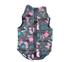 Howstar Pet Camouflage Cold Weather Coat Small Dog Vest Harness Puppy Winter Padded Outfit Warm Garment