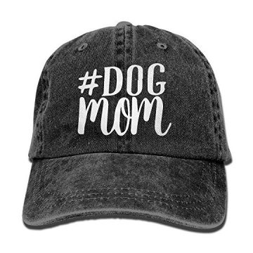 Men and Women Dog Mom1 Vintage Jeans Baseball Cap