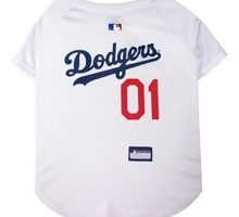 Pets First MLB LA DODGERS Dog Jersey Medium  Pro Team Color Baseball Outfit