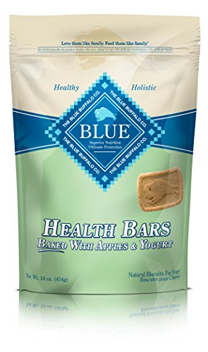 BLUE Health Bars Adult Apple & Yogurt Biscuits Dog Treats 16oz